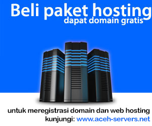 Gratis Domain @ ACEH-SERVERS.net